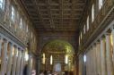 Inside the Basilica of St Mary Maggiore