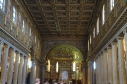 Inside the Basilica of St Mary Maggiore