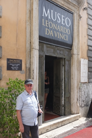 At the Leonardo da Vinci Museum